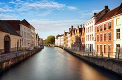 Bruges cityscape, Belgium Royalty Free Stock Images