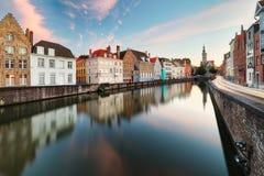 Bruges cityscape, Belgium Stock Photo