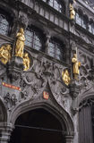 Bruges court Royalty Free Stock Image