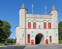 Bruges - The Cross gate (Kruispoort gate) Royalty Free Stock Photo