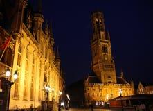 Bruges Dzwonkowy wierza Obraz Stock