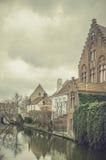 Bruges - esplendor velho europeu fotos de stock