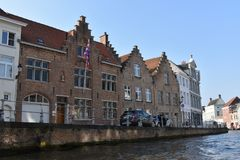 Bruges a few kilometers from Brussels stock photo