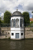 Bruges folly. A folly on the canals of Bruges Royalty Free Stock Photos
