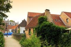 Bruges footbridge Belgium Royalty Free Stock Photography