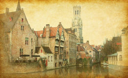 Bruges historic centre Royalty Free Stock Image