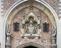 Bruges Historical Building Belgium Royalty Free Stock Image