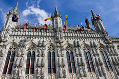 Bruges Historical Building Belgium Stock Images