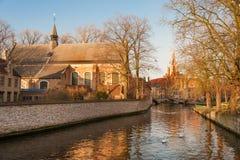 Bruges historique Photographie stock libre de droits