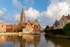 Bruges. Hospital St. John. Royalty Free Stock Photo