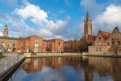 Bruges. Hospital St. John. Stock Photos