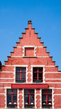Bruges house Royalty Free Stock Photos