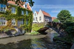Bruges - il Belgio Fotografia Stock Libera da Diritti