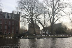 Bruges - il Belgio Immagine Stock