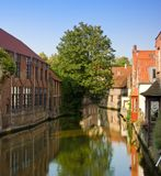 Bruges, important historical city of Belgium Royalty Free Stock Photo