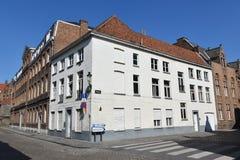 Bruges jest właśnie few kilometrami od Bruksela zdjęcia royalty free