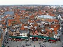 Bruges landscape Stock Photography