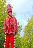 Bruges, lo spettacolo dell'albero dorato Immagine Stock Libera da Diritti