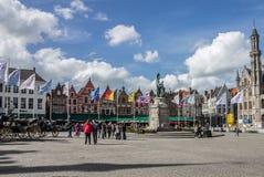 Bruges Markt Belgium Royalty Free Stock Image