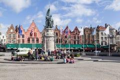 Bruges Markt Belgium Stock Photography