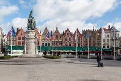 Bruges Markt Belgium Stock Images