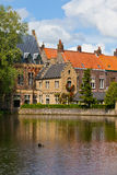 Bruges, medieval city in Belgium Royalty Free Stock Photo