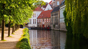 Bruges, medieval city in Belgium Stock Photography