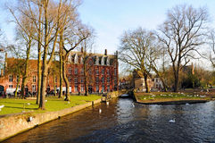 Bruges Minnewater Royalty Free Stock Images