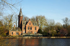 Bruges Minnewater Royalty Free Stock Photos