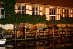 Bruges na noite Imagem de Stock Royalty Free