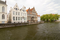 Bruges Neighborhood Stock Photography