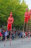 Bruges pageanten av den guld- treen royaltyfri foto