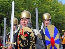 Bruges pageanten av den guld- treen Royaltyfria Bilder