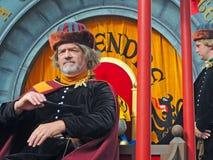 Bruges pageanten av den guld- treen Royaltyfri Fotografi