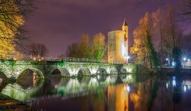 Bruges Parque Minnewater Fotos de Stock