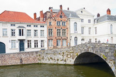 Bruges Picturesque Spot Stock Image