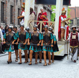 Bruges, Procession of the Holy Blood Stock Photography