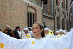 Bruges, Procession of the Holy Blood Stock Photo