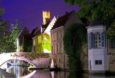 Bruges przy nocą