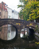 Bruges in rain Royalty Free Stock Image