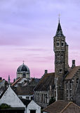 Bruges rooftops Royalty Free Stock Photo