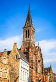 Bruges, Sacred Heart church, Belgium Stock Photography