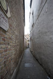 Bruges Simple Walkway Stock Photography