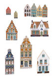 Bruges souvenir magnets Royalty Free Stock Photography