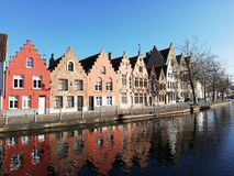 Bruges stad fotografering för bildbyråer