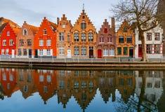 Bruges stare miasto zdjęcie stock