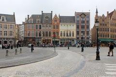Bruges storica, Belgio Fotografia Stock