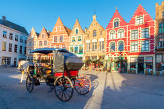 Bruges streets. Royalty Free Stock Photos