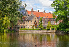 Bruges in a sunny day. Belgium Stock Images