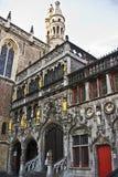Bruges targowy kwadrat Fotografia Royalty Free